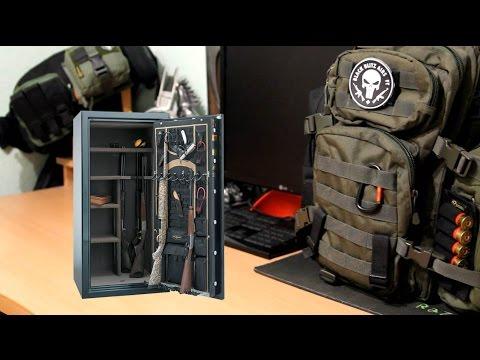 Оружейный сейф. Выбор сейфа для хранения оружия