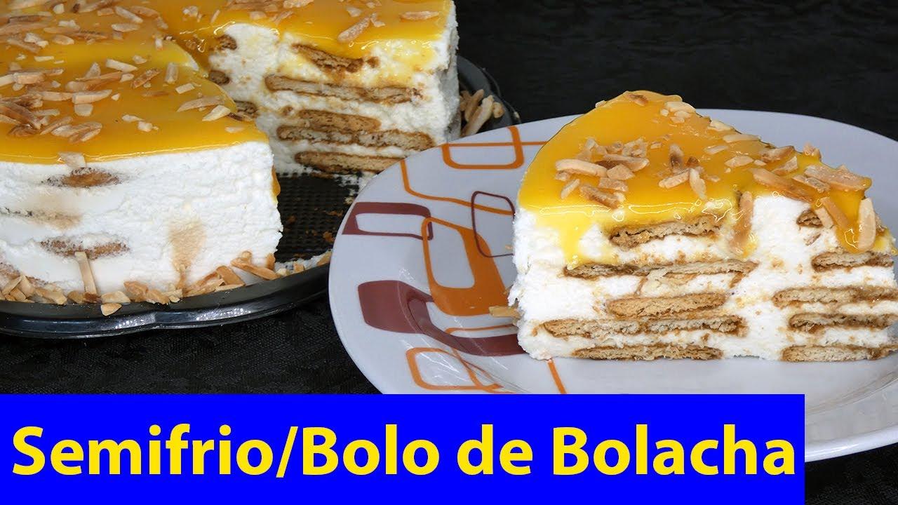 Como Faço SemiFrio/Bolo de Bolacha