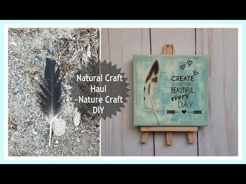 Nature Craft | Foraging | Natural DIY project