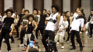 Les Twins Workshop in Tokyo -Larry- Part 4 7/29/2015