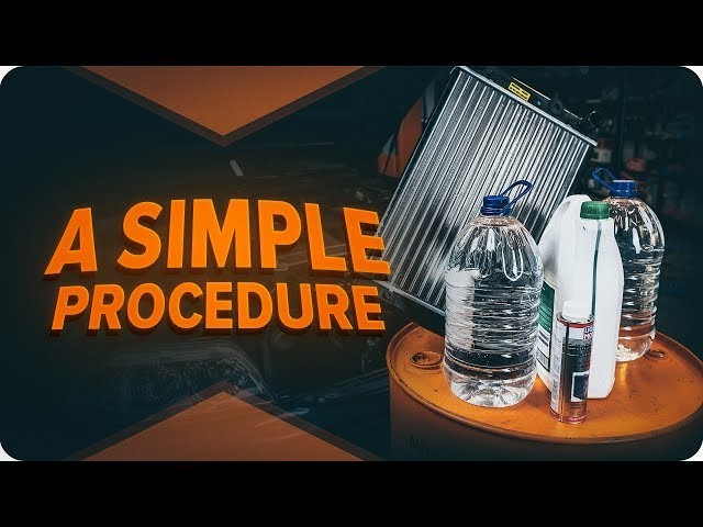 DIY car radiator flushing | Tips from AUTODOC