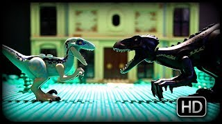 JURASSIC WORLD 2 - Indoraptor Attack! (Lego STOPMOTION) HD