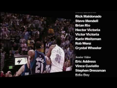 TNT NBA Playoffs 2009 Flipsyde Champion HD