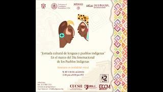Jornada cultural de lenguas y pueblos indígenas