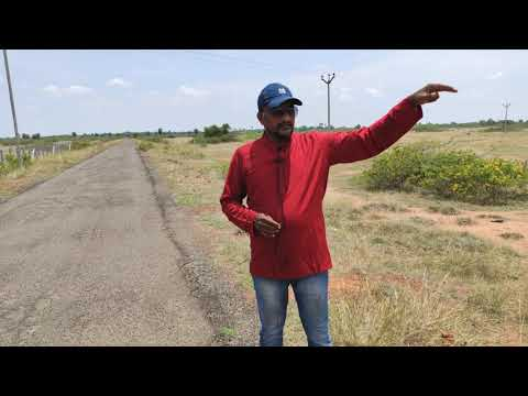 500 Acres RED Soil Land ar 65km from Madurai international airport