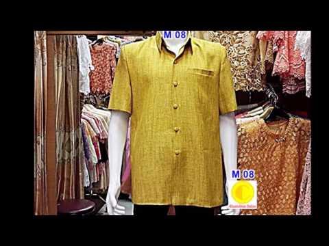Chantubtim TV ร้านลูกไม้ไทย  เสื้อผ้าไหมนอก Silk men Shirt ค่ะ EP 64