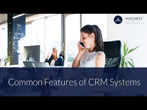 Common Features of CRM Systems