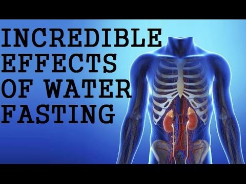 INCREDIBLE EFFECTS OF WATER FASTING! Dr Alan Goldhamer