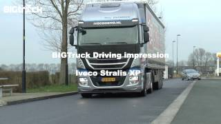 Driving impression Iveco Stralis XP 420