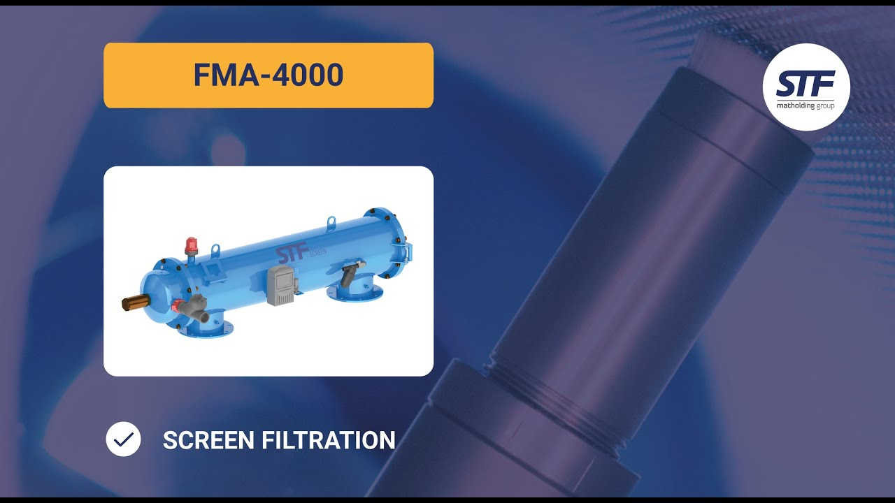 Filtro de malla autolimpiante fma 4000 stf filtros - Filtro de malla ...
