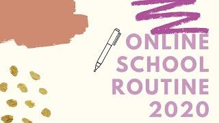 online school routine