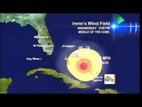 The Early Show - Hurricane Irene on path to hit U.S. mainland