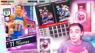 NBA 2K17 My Team HOW TO GET PINK DIAMOND ISIAH THOMAS! 97 OVERALL!