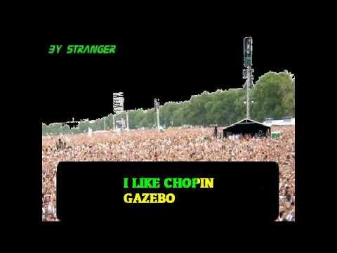 Gazebo I Like Chopin Karaoke Youtube