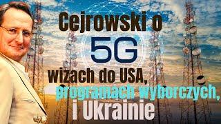 Cejrowski o 5G, wizach do USA, programach wyborczych i Ukrainie 2019/09/09 Studio Dziki Zachód 25