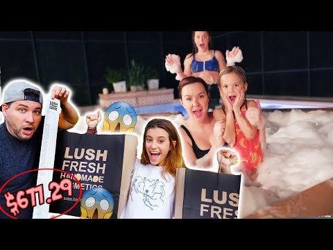 every-lush-bath-bomb-ever-in-our-hot-tub!!
