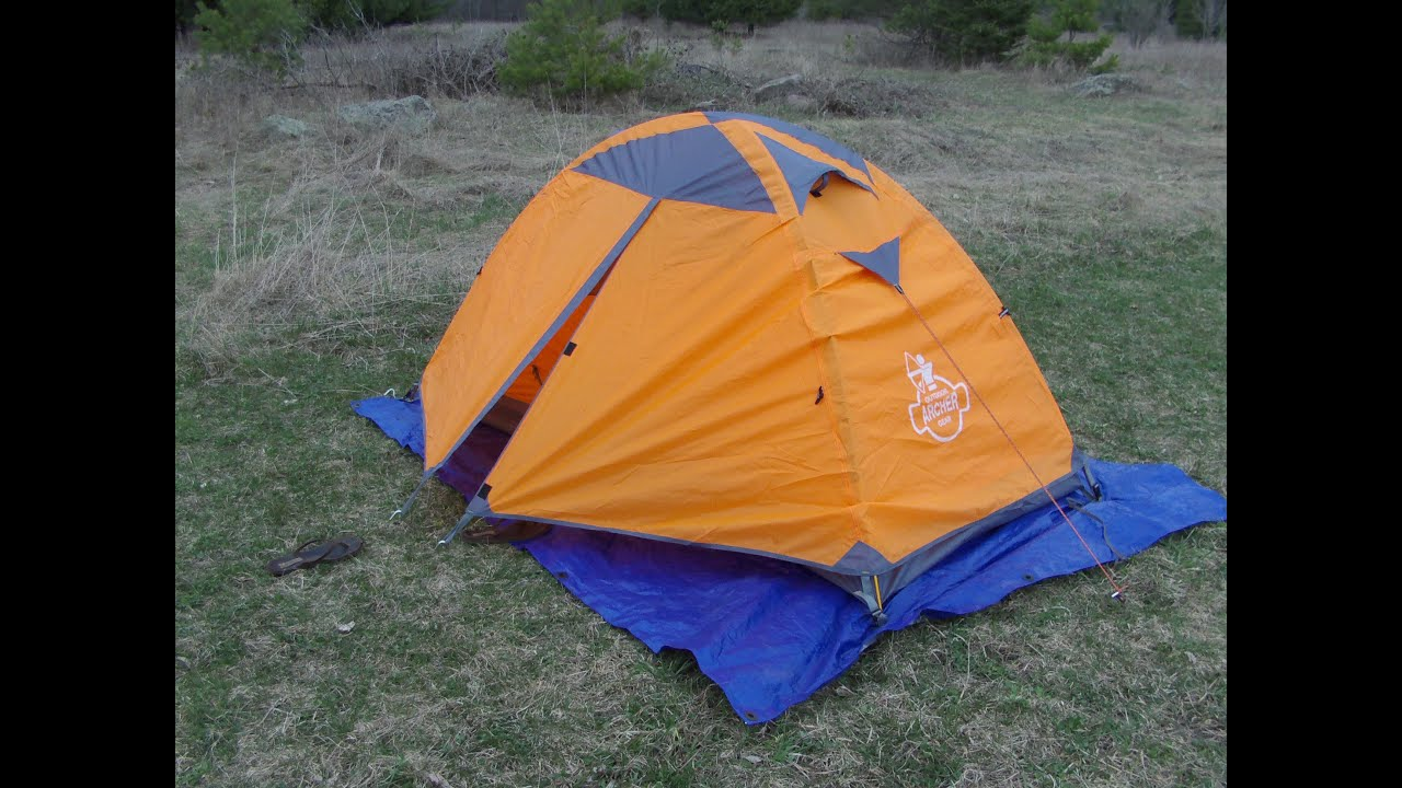 ARCHER Outdoor Gear Preview of a 1 Man Ultralightweight 3-Season Waterproof Tent & ARCHER Outdoor Gear Preview of a 1 Man Ultralightweight 3-Season ...