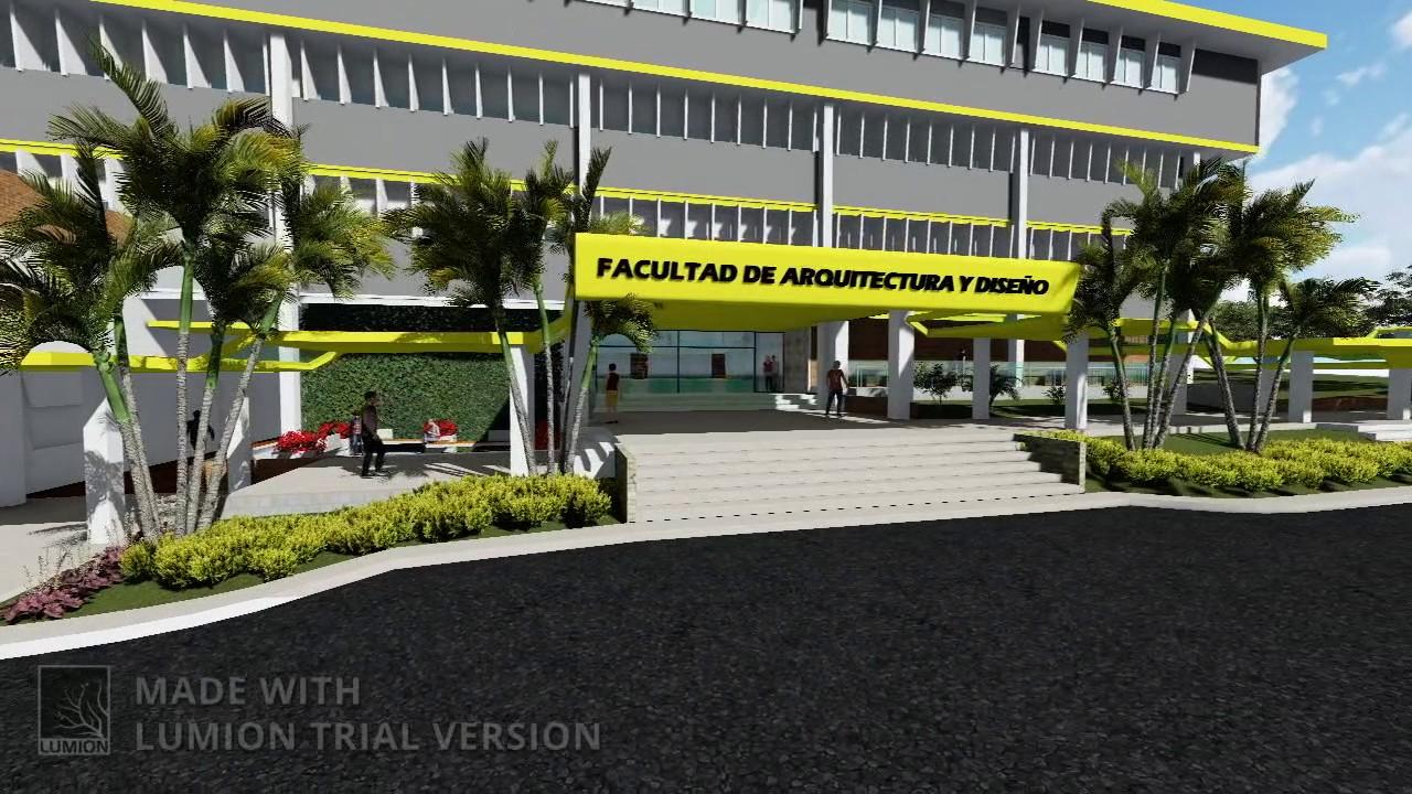 propuesta renovaci n facultad de arquitectura y dise o en