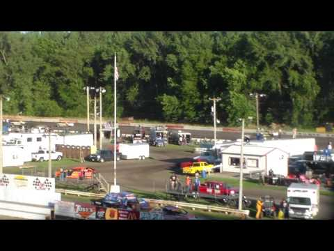 Stock Car Heat 2 @ Hamilton County Speedway 06/24/17