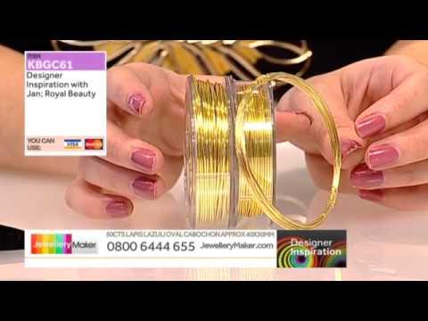 How to Make Genuine Gemstone Jewellery - JewelleryMaker DI LIVE 24/11/14