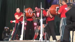 2012 Super Cup of Titans Andrey Malanichev 490 kg Squat No Lift (5/27/2012)