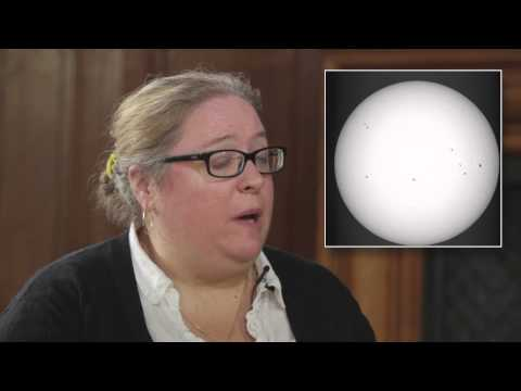 Sunspots and climate