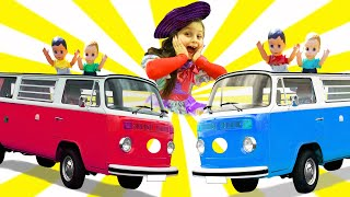 The Wheels On the Bus & Miss Polly Had a Dolly | Children songs by Chiki-Piki