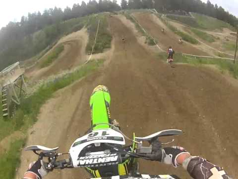+Battery Kawasaki Rasing Team Mika Karma Heinola mxb 2013 start 1