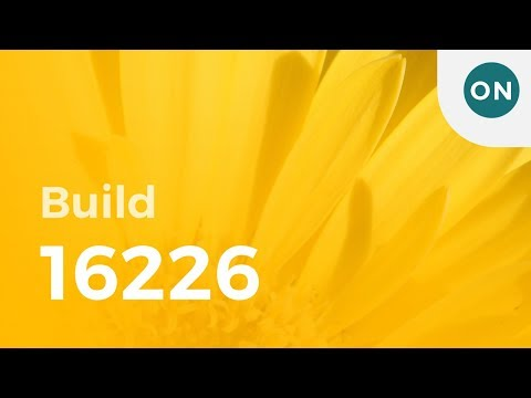 Hands-on with Windows 10 build 16226