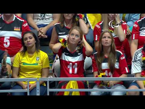 Sitting Volleyball | Germany v Ukraine | Men's 5th-6th Classification | Rio 2016 Paralympic Games