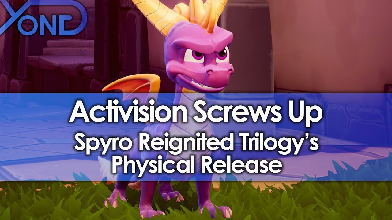 Activision Excludes 2 of 3 Games from Spyro Reignited Trilogy's Physical Disc