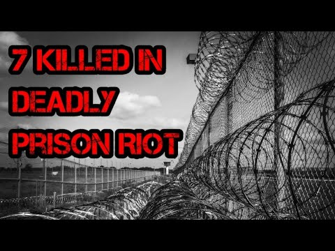 7 Inmates Killed in South Carolina Prison Riot!