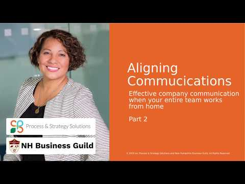 Strategically communicate what's going on effectively. Check out how ...