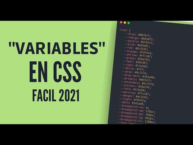 🚀 Variables en CSS   Como usarlas en tu proyecto!!