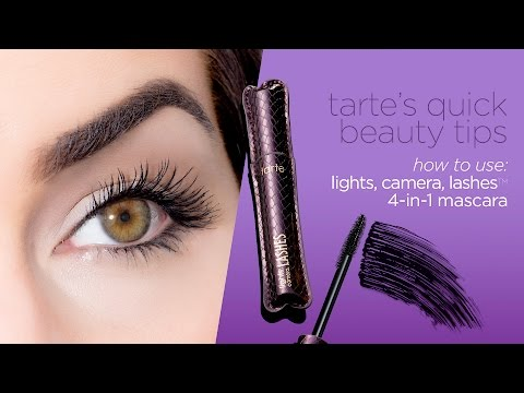 tarteistry: how-to perfect your mascara