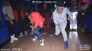 Alkaline Champion Boy Dance 2016