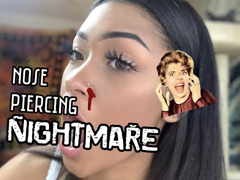 EVERYTHING ABOUT NOSE PIERCINGS *including terrible experience*