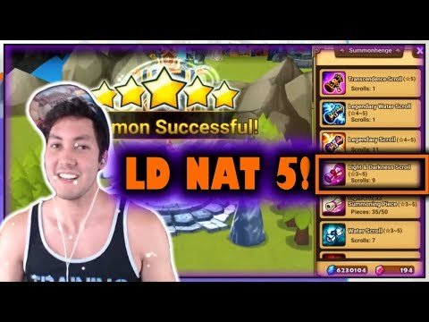 HOW DO I EVEN CLICKBAIT THIS!?   Summoners War LD NAT 5 SUMMON