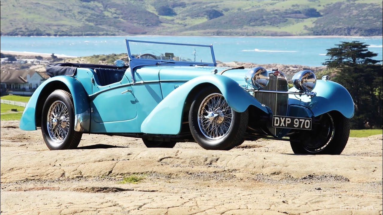 The amelia island stand out lot the 1937 bugatti type 57sc sports tourer youtube