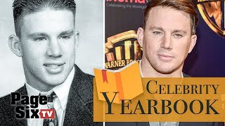 Channing Tatum's high school years featured bodybuilding | Celebrity Yearbook | Page Six TV