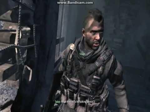 Call Of Duty Modern Warfare 3 Gameplay Dead Of Kamarov And Soap Youtube