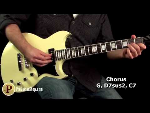 The Doors - Love Me Two Times Guitar Lesson