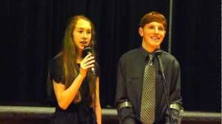 "Brother Sister Duet ""Winter Light"" Christmas Song"