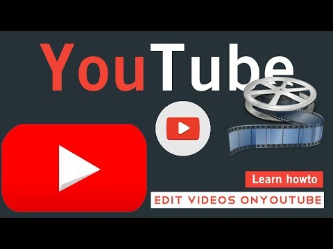 Free youtube video Editor - learn how to use youtube video editor by Ts Tech talk #youtube