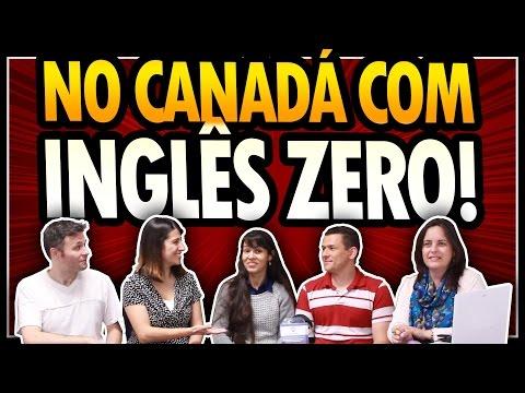 Foram TRABALHAR E ESTUDAR No CANADÁ SEM SABER NADA DE INGLÊS!