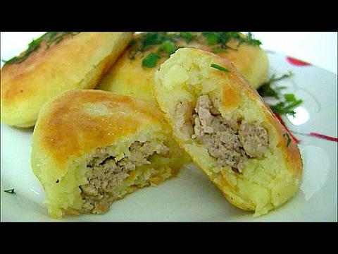 Зразы картофельные с мясом / Картопляники / Что приготовить из остатков картофельного пюре ?