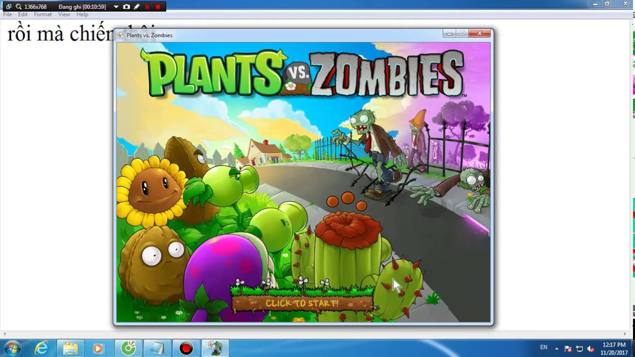 Cách Download Plants Vs Zombies 1 trên máy tính