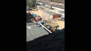 Продувка газовой трассы к турбине методом взрыва