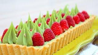 Фисташковый Малиновый Тарт / Pistachio Raspberry Tart