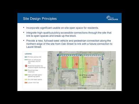 Virtual open house presentation